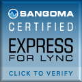 Sangoma-Certified Express-for-Lync Badge