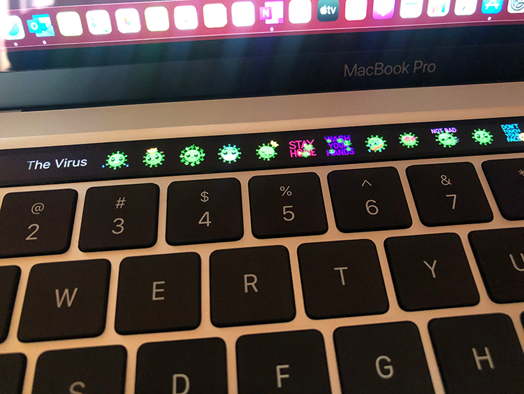 MacbookM1-TouchBar